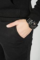 Брюки спортивные с карманами, на резинке 70PD5017-1 (Черный), фото 2