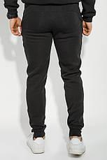 Брюки спортивные с карманами, на резинке 70PD5017-1 (Черный), фото 3