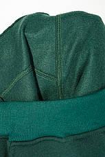 Брюки спортивные с карманами, на резинке 70PD5017-1 (Бутылочный), фото 3