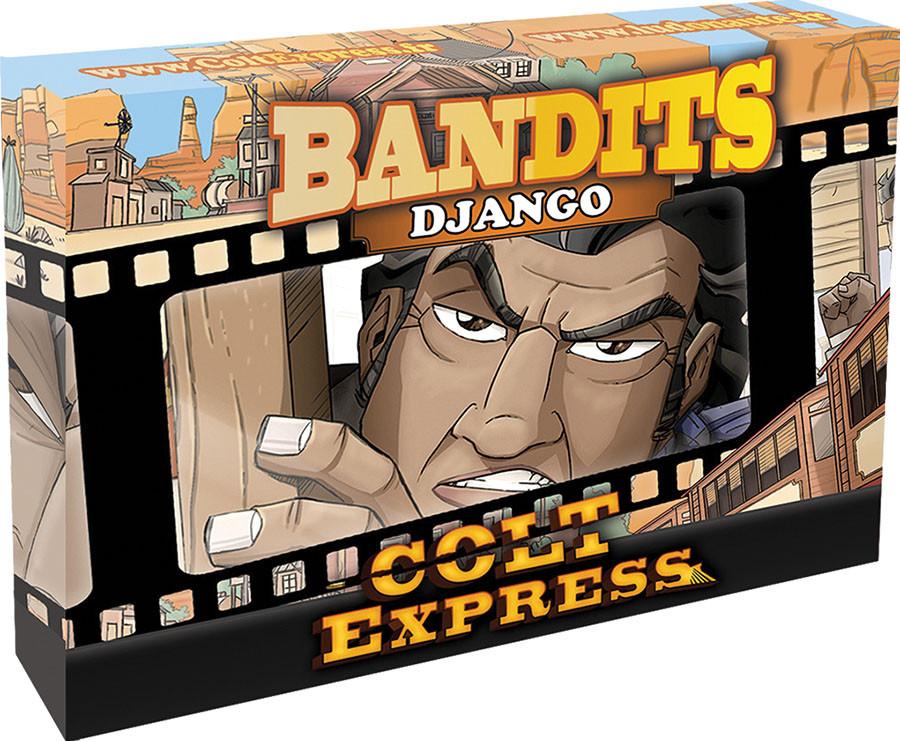 Настольная игра Colt Express: Bandits. Django (Кольт Экспресс: Бандиты. Джанго)