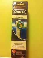 Насадка на зубную щетку Oral-B 3D WHITE EB18-3