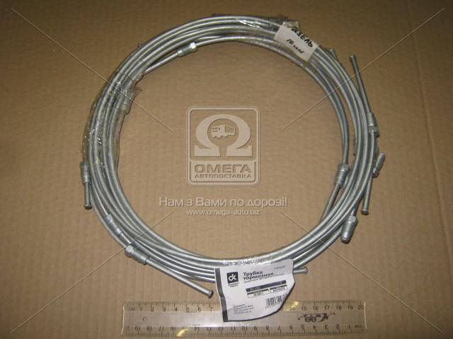 Трубка тормозная ГАЗ 3302 компл. 10 трубок (сталь) СТАНДАРТ  DK-3501-1