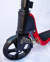 Самокат детский двухколесный Scooter Glob - Красный, фото 2