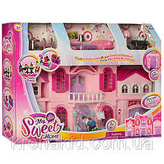 Будиночок для ляльок з фігурками, меблями/ Ляльковий будиночок зі світловими і звуковими ефектами(16427), фото 3