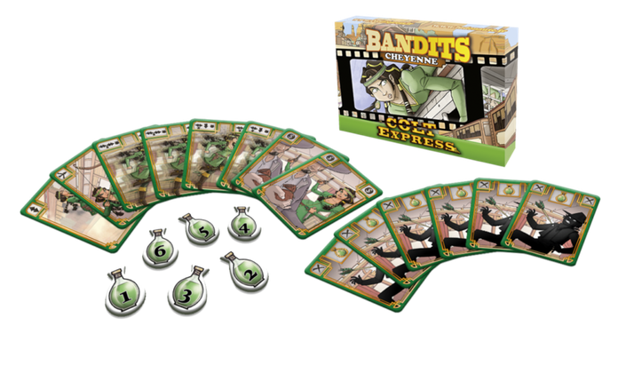Настольная игра Colt Express: Bandits. Cheyenne (Кольт Экспресс: Бандиты. Шайенн), фото 2