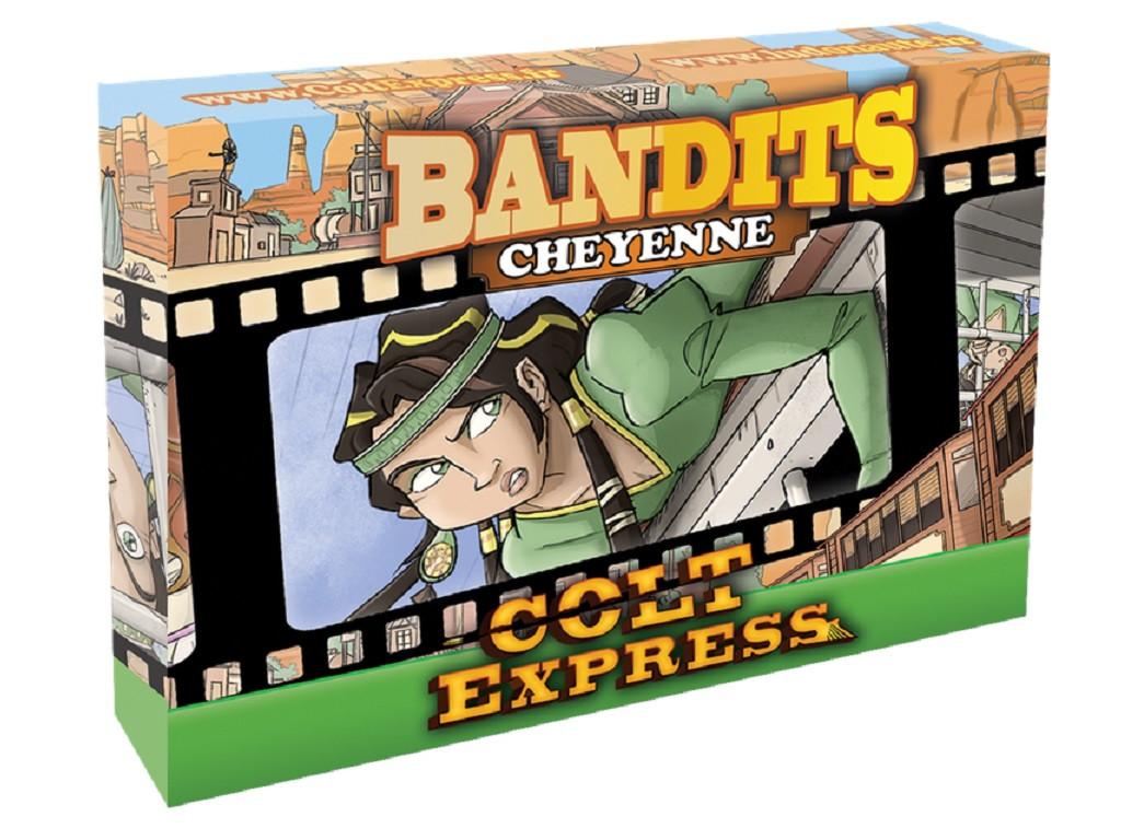 Настольная игра Colt Express: Bandits. Cheyenne (Кольт Экспресс: Бандиты. Шайенн)