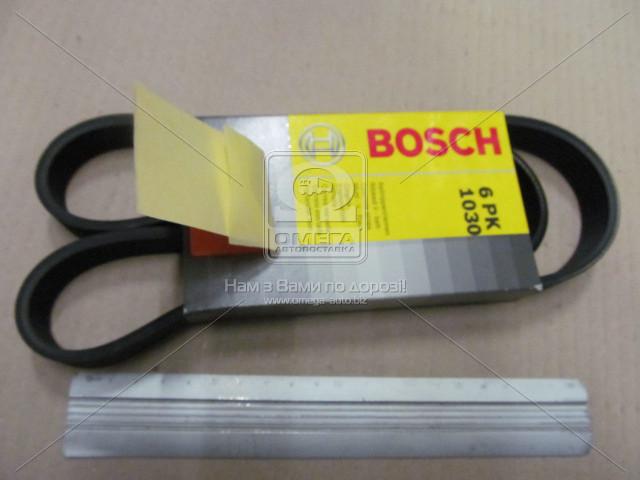 Ремень п-клиновой 6Рk1030 (пр-во Bosch) 1 987 946 051