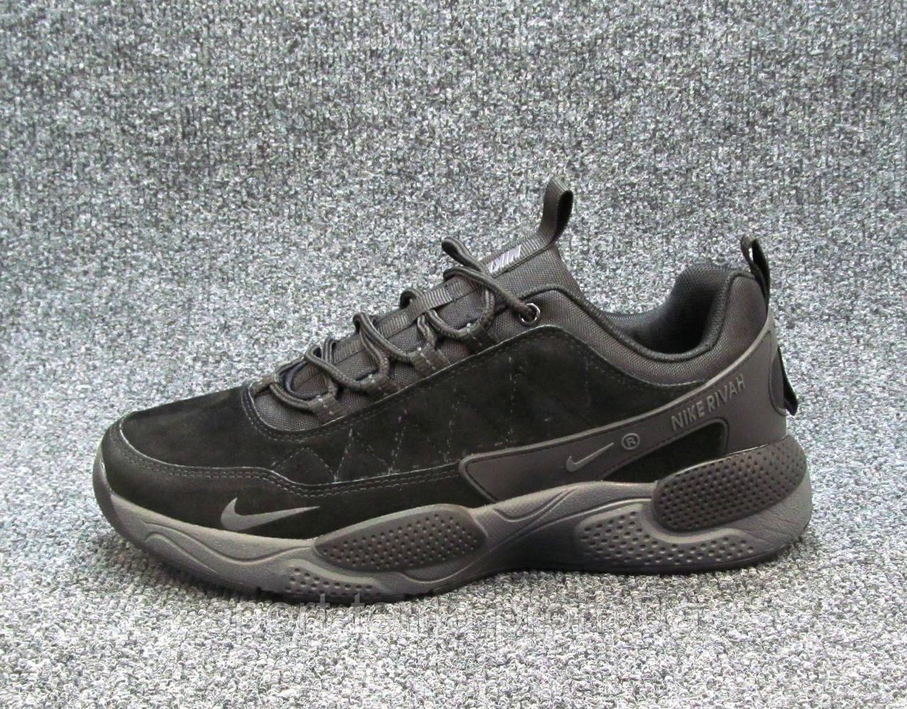4eb9dbf7 Кроссовки Мужские Nike Rivah Черные (р.42,43,44,46) — в Категории ...