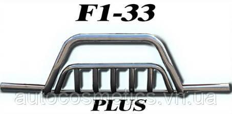 Кенгурятник F1-33