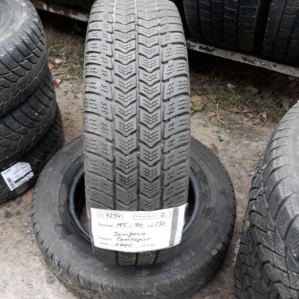 Бусовские шины б.у. / резина бу 195.70.r15с Semperit Vangrip 2 Семперит