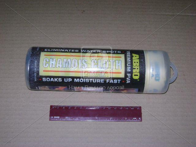Салфетка замшевая ABRO 43х68см CH-338-R