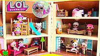 Набор Куклы LOL 5 Серия Домик 3 Куклы Лучший Подарок!!!, фото 1