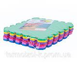 Килимок-пазл EVA, т. 11-12мм, щільність 100 кг/м3 TERMOIZOL®, набір 6 шт, фото 2