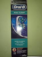 Насадки Dual Clean для зубной щетки Oral-B EB417-3