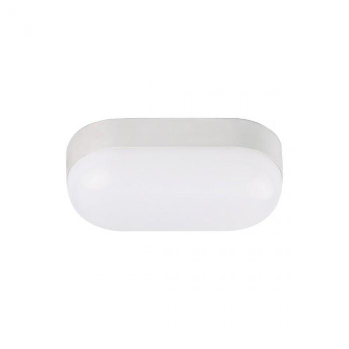 Світлодіодний світильник для ЖКГ YILDIZ-15 15W накладної 4200K овал IP65 Код.59344