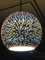 Светильник подвесной 3D QUANTUM COPPER круг  Е27 Код.59267
