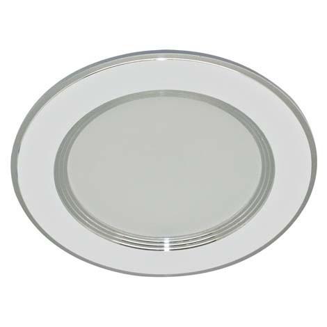 Светодиодная панель ZL 260181 18W 4000K кругл. белый/хром  Код.59304