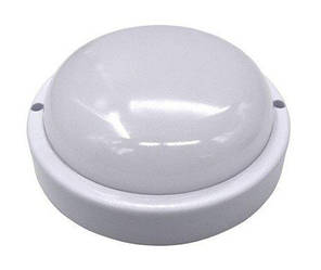 Світлодіодний світильник для ЖКГ SL101/1 12W накладної 6000K круглий IP65 Код.59351