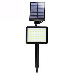Светодиодный уличный светильник на солнечной батарее с датчиком движения SL50C 5W IP65 Код.59372