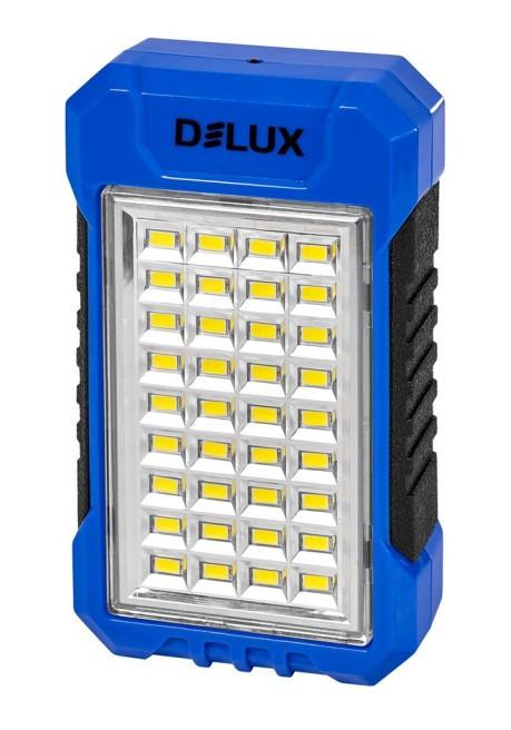 Світлодіодний акумуляторний світильник-Power Bank DELUX REL-101 LED USB Код.59375