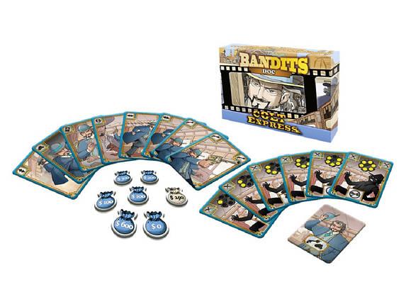 Настольная игра Colt Express: Bandits. Doc (Кольт Экспресс: Бандиты. Док), фото 2