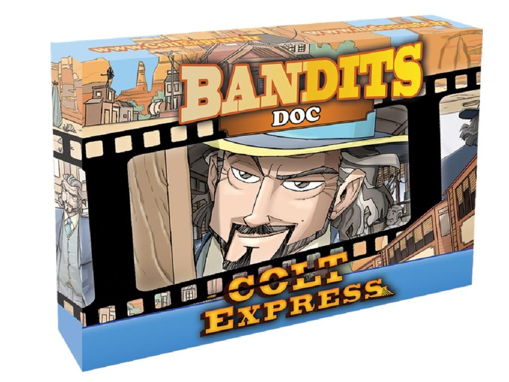 Настольная игра Colt Express: Bandits. Doc (Кольт Экспресс: Бандиты. Док)