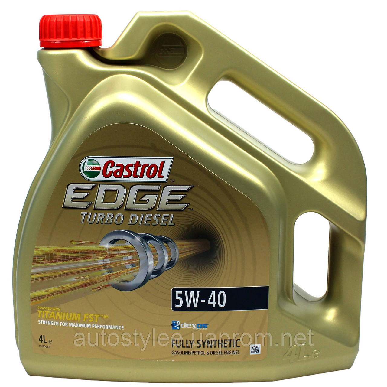 Масло моторное Castrol Edge Turbo Diesel 5W-40 4 л.