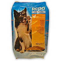 Сухой корм для собак RENO со вкусом птицы 10 кг