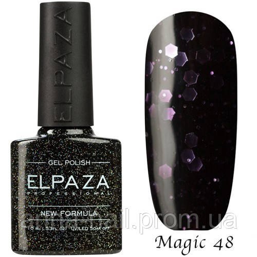 Гель лак ELPAZA Magic Stars 48 Фортуна 10 мл