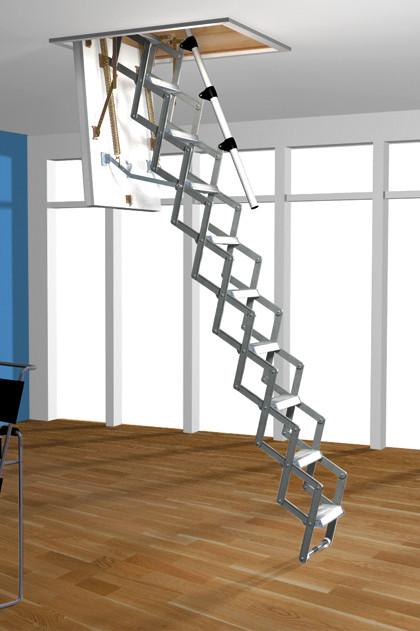Чердачная лестница Roto Mini ножничная