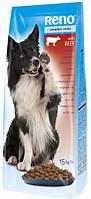 Сухой корм для собак RENO со вкусом говядины 10 кг