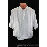 Легкая мужская сорочка (воротник 38-47)