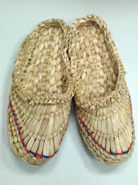 Плетеные лапти