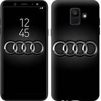 "Чехол на Samsung Galaxy A6 2018 Audi. Logo v3 ""3106c-1480-16132"""
