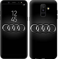 "Чехол на Samsung Galaxy A6 Plus 2018 Audi. Logo v3 ""3106c-1495-16132"""