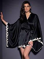 Короткий халат с широким рукавом, фото 1