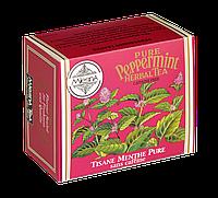 Травяной чай мята перечная, PEPPERMINT HERBAL TEA, Млесна (Mlesna) 75г.