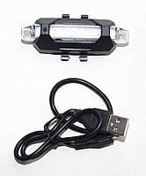 Задний вело фонарь стоп сигнал на велосипед, фото 1