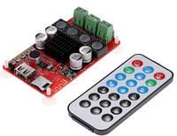 Декодер -усилитель 2*50Вт TPA3116 Bluetooth 4,1 USB TF AUX пульт