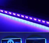 Диско панель ультрафиолетовая 12 с пультом ДУ и DMX512