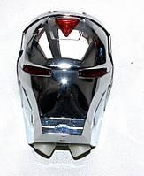 Мигалка на велосипед с лазерной дорожкой, фото 1