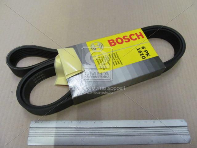 Ремень п-клиновой 6pk1610 (пр-во Bosch) 1 987 947 983