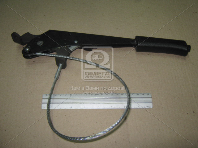 Рычаг торм. ручного ВАЗ 2123 с тросом в сб. (пр-во ОАТ-ВИС) 21230-350801000