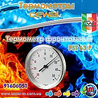 Термометр фронтальный пластик CEWAL PST63P ∅63, -30÷50°С, фото 1
