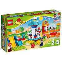 Конструктор LEGO Duplo 10841 Семейный парк аттракционов. Оригинал Лего Дупло
