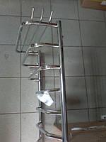 Электрический  полотенцесушитель юность с трапециями DEFFI 50см на см 80cм