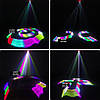 Диско лазер 3D эффектом 3 цвета c DMX512. TDM-RGB400. Светомузыка Dzyga, фото 2