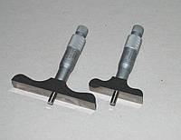 Глубиномер микрометр. ГМ 0-25 (Польша)