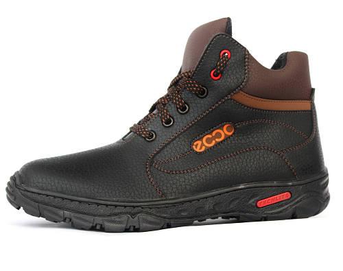40 р. Зимние мужские ботинки на меху (СГБ-16чк)