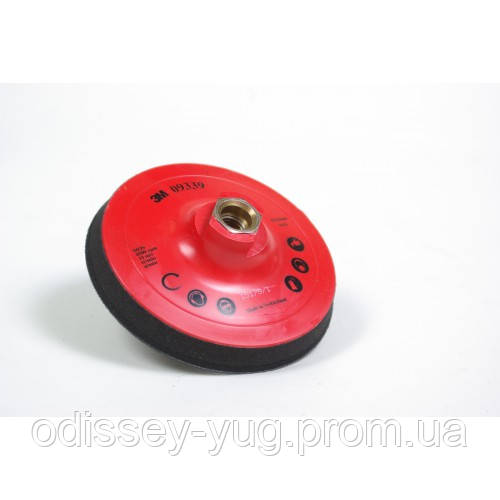 Оправка для самоклеющихся кругов 3М™ Trizact™ 125 мм,Stikit - М14. 09339
